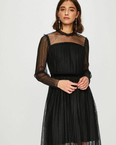 Платье мини однотонное расклешенное Only