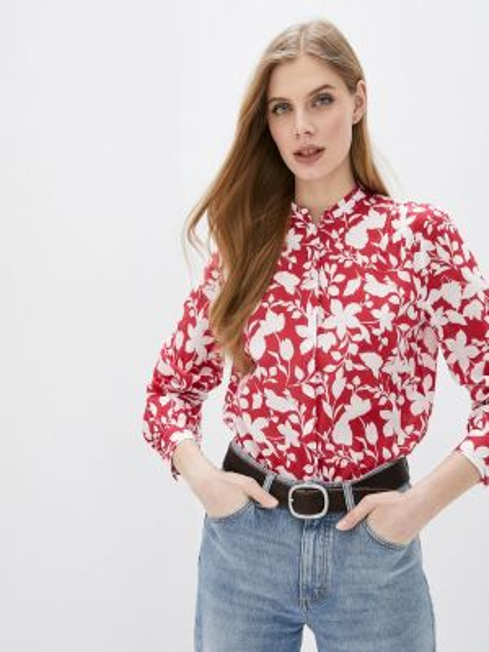 Блузка с длинным рукавом розовая весенний Marc O`polo