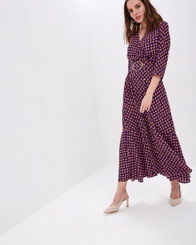 Платье прямое фиолетовый Pepen