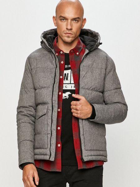 Куртка с капюшоном - серая Produkt By Jack & Jones