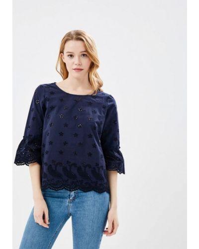 Синяя блузка S.oliver