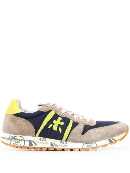 Нейлоновые кроссовки на шнуровке Premiata