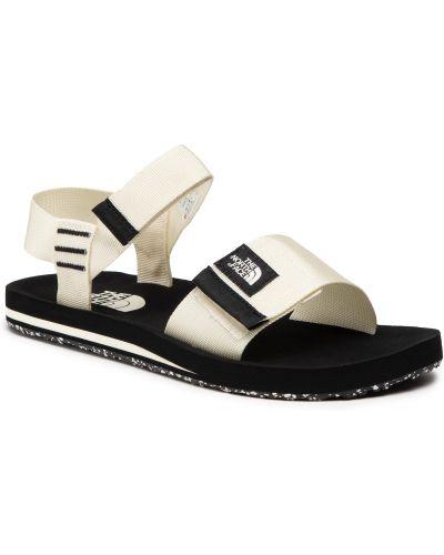 Czarne sandały vintage The North Face