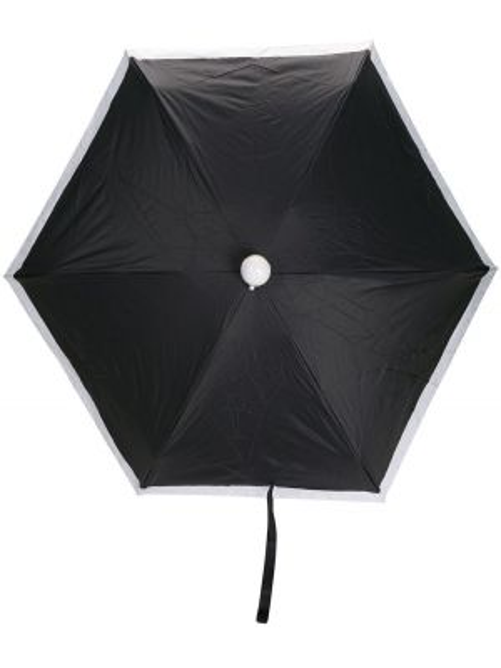 Automatyczny parasol z logo biały Karl Lagerfeld