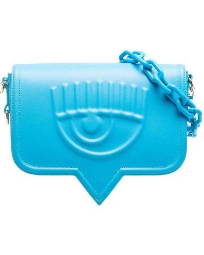 Niebieska torebka na łańcuszku Chiara Ferragni