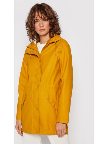 Kurtka przeciwdeszczowa - żółta Vero Moda