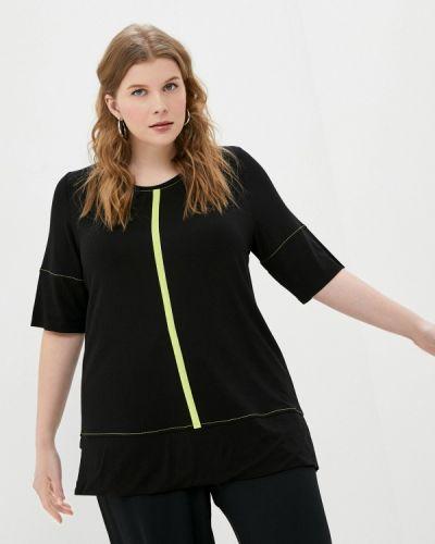 Черная футболка Ulla Popken