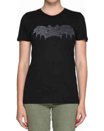 Хлопковая футболка - черная Zoe Karssen