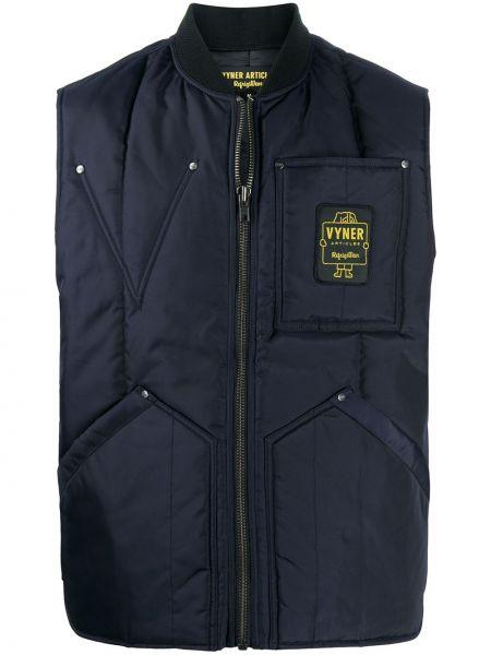 Синяя куртка с заплатками Vyner Articles