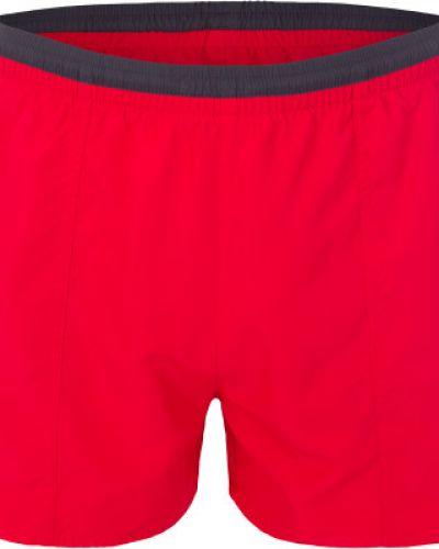 Плавки-боксеры красные с карманами Joss