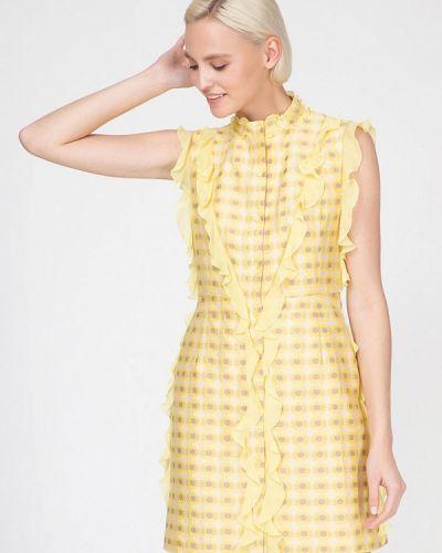 Желтое платье Ornato
