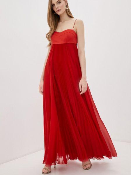 Красное вечернее платье Pinko