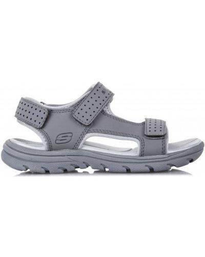 Повседневные кожаные сандалии Skechers