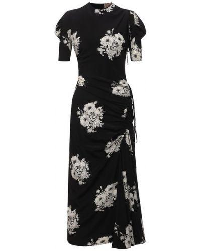 Шелковое платье - белое N21
