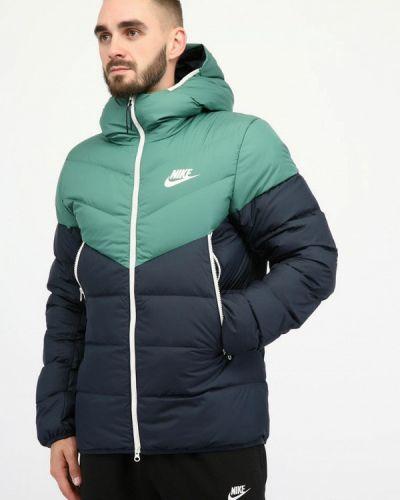 Синяя куртка Nike