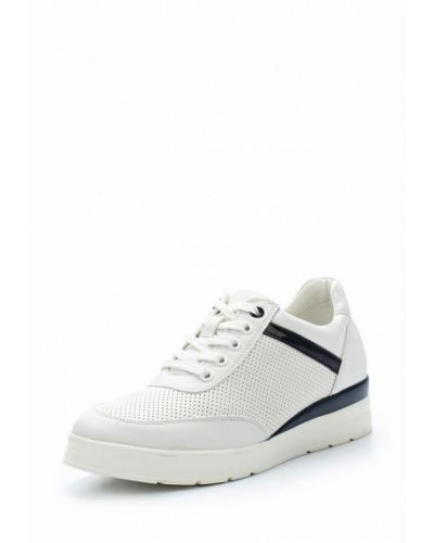 Белые кроссовки из искусственной кожи Keddo