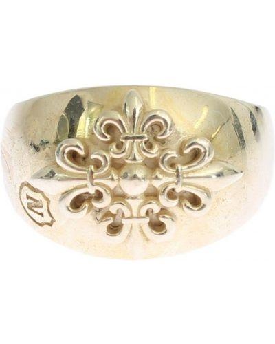 Szary pierścionek srebrny Nialaya