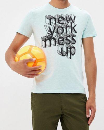 Бирюзовая футболка Ovs