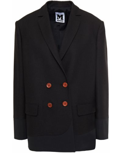 Черный пиджак двубортный с карманами M Missoni