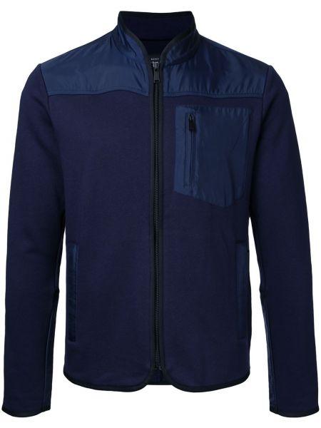 Niebieski kardigan bawełniany Kent & Curwen