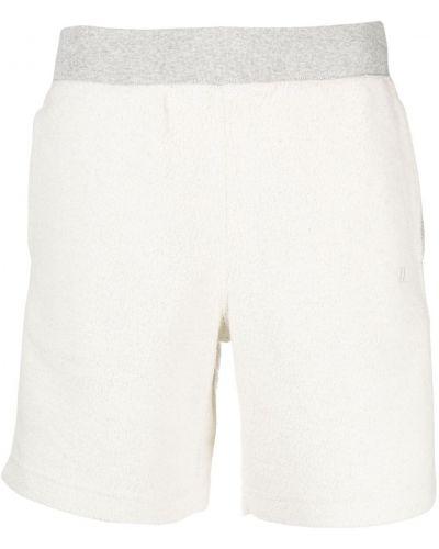 Хлопковые белые шорты с карманами Helmut Lang