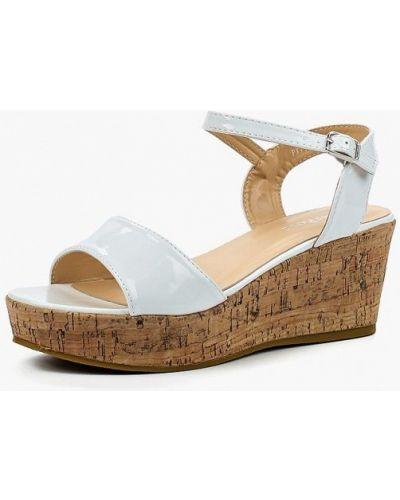 Белые босоножки на каблуке Damerose