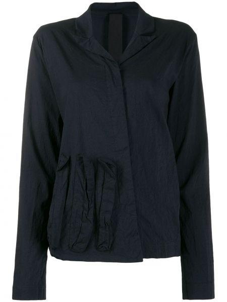 Классическая черная классическая рубашка с воротником с вышивкой Rundholz Black Label