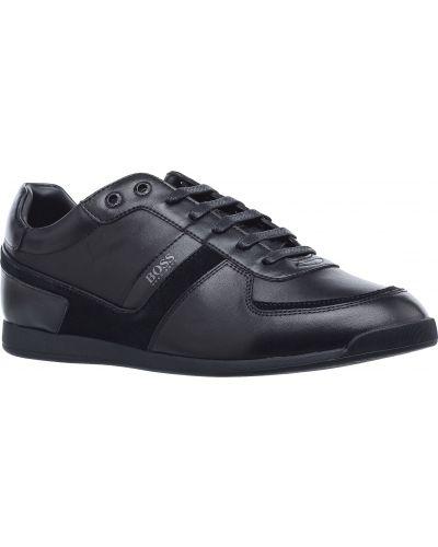 Кожаные кроссовки Hugo Boss
