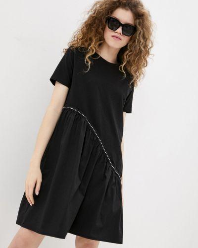 Черная футболка снежная королева