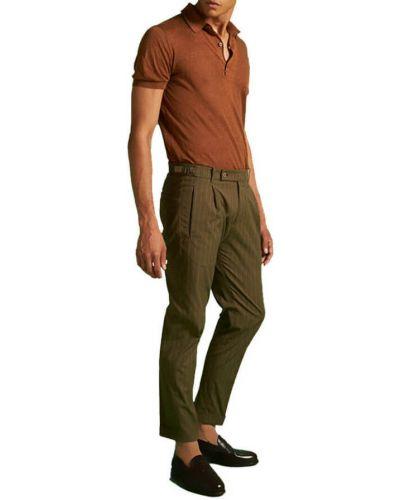 Zielone spodnie vintage Berwich