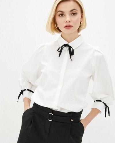 Белая рубашка с длинными рукавами Zubrytskaya