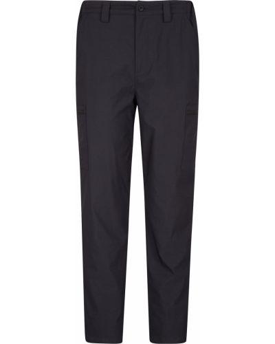 Ciepłe czarne spodnie materiałowe Mountain Warehouse