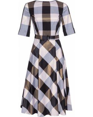 Летнее платье классическое в клетку Vassa&co