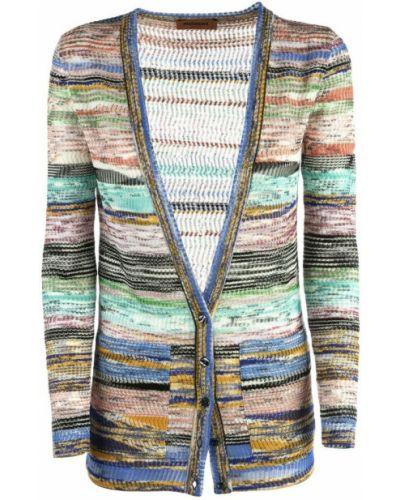 Niebieski sweter Missoni