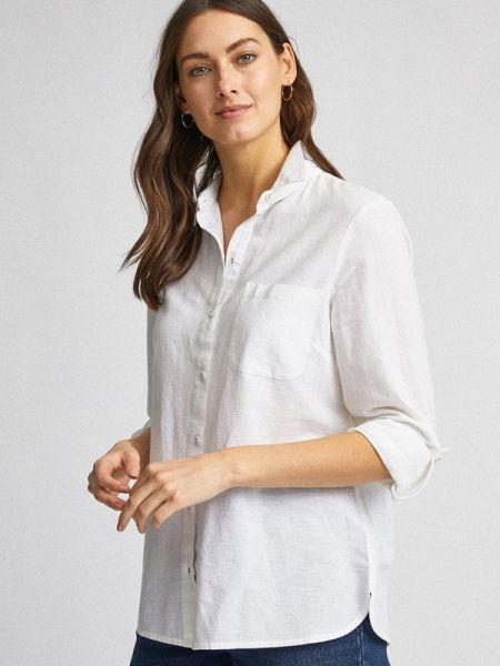 Рубашка с длинным рукавом белая Dorothy Perkins