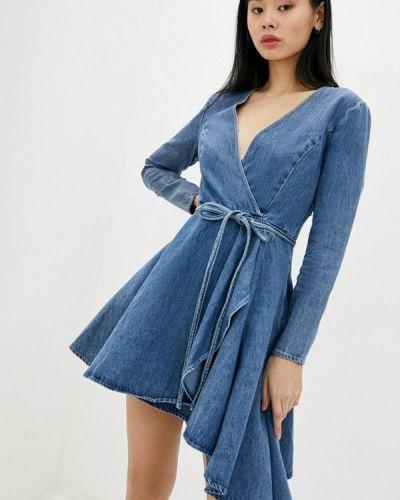Синее джинсовое платье Miss Sixty