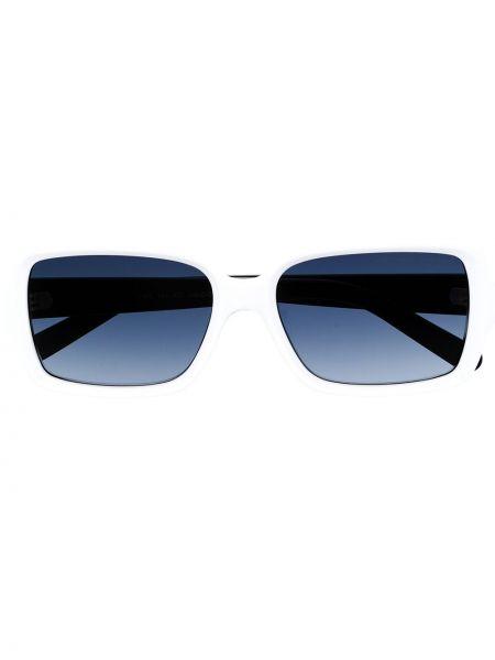 Прямые муслиновые солнцезащитные очки прямоугольные хаки Marc Jacobs Eyewear