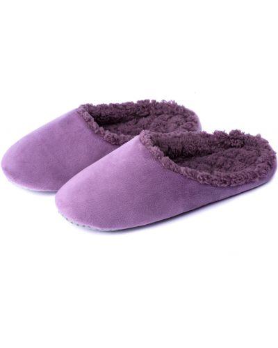 Домашние тапочки - фиолетовые Twins