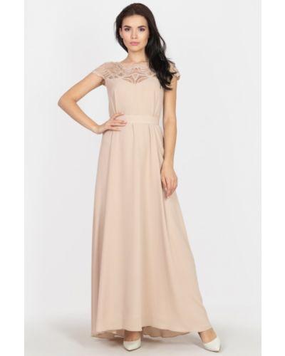 Шифоновое платье макси Seam