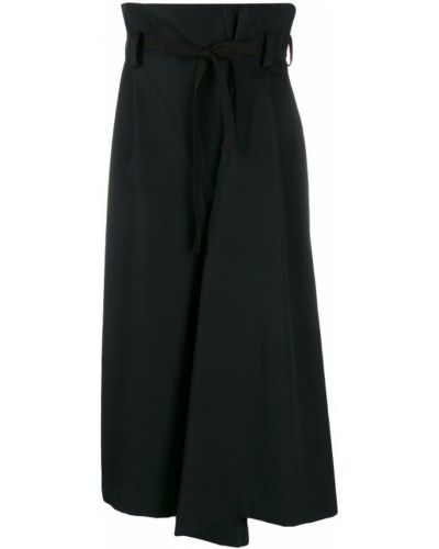 Укороченные брюки с завышенной талией палаццо Y`s