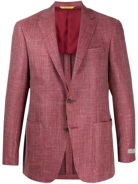 Klasyczny garnitur kostium wełniany Canali