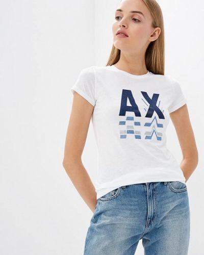 Белая футболка 2019 Armani Exchange