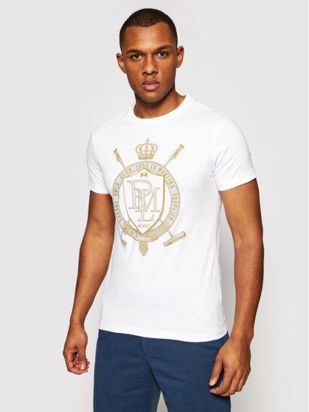Biała t-shirt La Martina