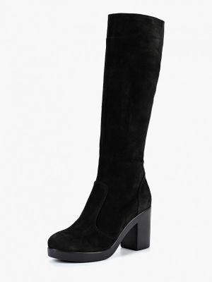 Ботинки на каблуке осенние черные Vitacci