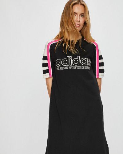 Платье мини однотонное прямое Adidas Originals