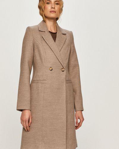 Klasyczny beżowy płaszcz z kapturem Vero Moda