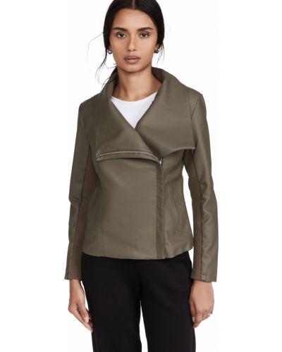 Кожаная куртка - зеленая Bb Dakota