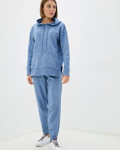 Вязаный костюм - синий Vladi Collection