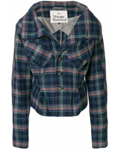 Пиджак в клетку приталенный Vivienne Westwood