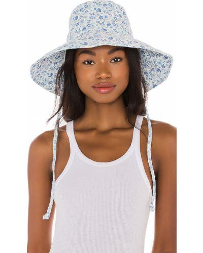 Niebieski kapelusz wełniany Lack Of Color